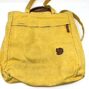Fjallraven Totepack Yellow Tote Handle Backpack